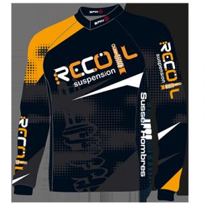 Recoil Suspension MTB Jersey - Back Design
