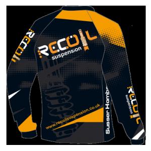 Recoil Suspension MTB Jersey - Front Design