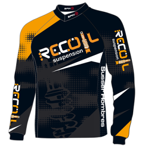 Recoil Suspension MTB Jersey - Back Design