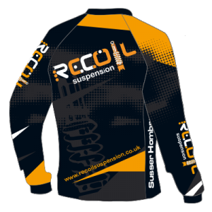 Recoil Suspension MTB Jersey - Front Design